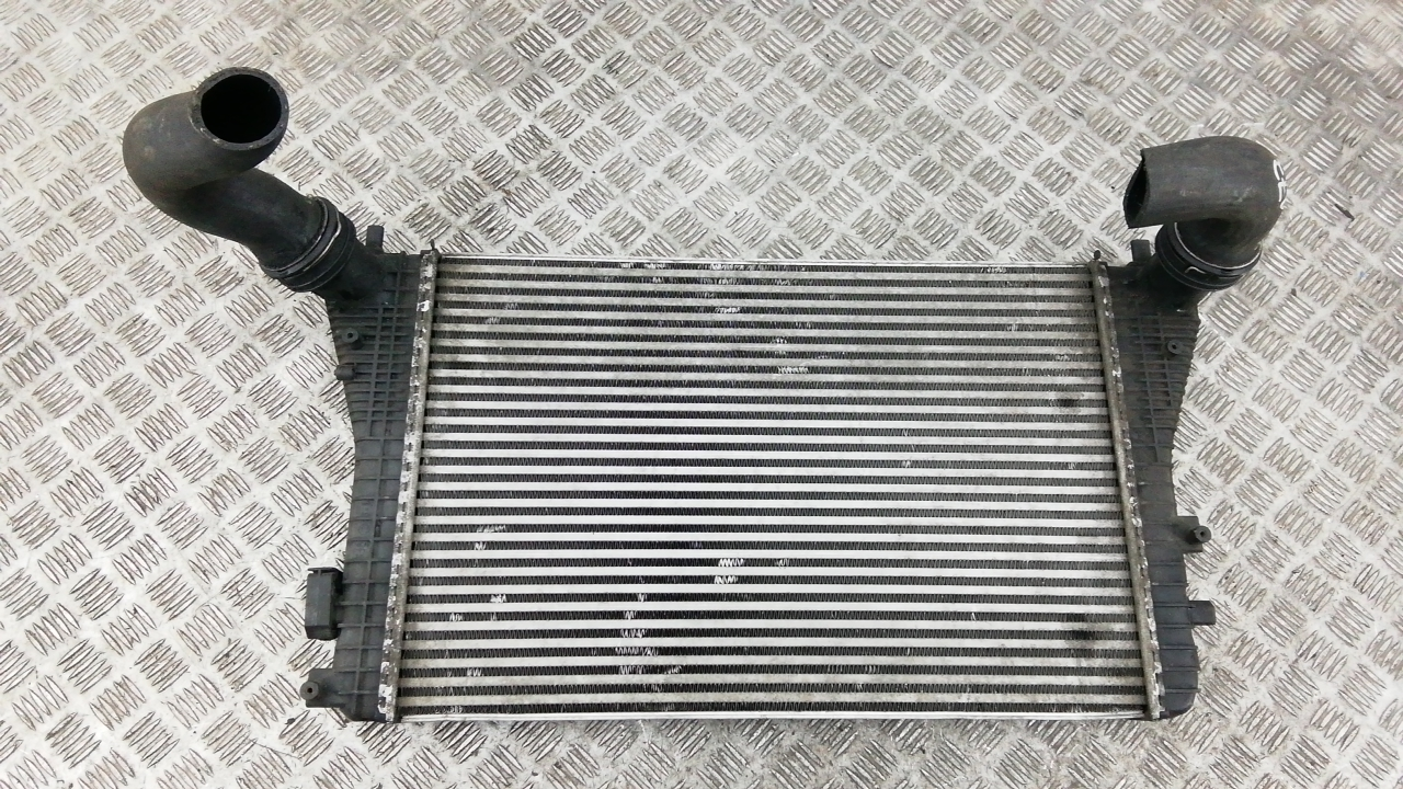 Радиатор интеркуллера, AUDI, A3 8P, 2004