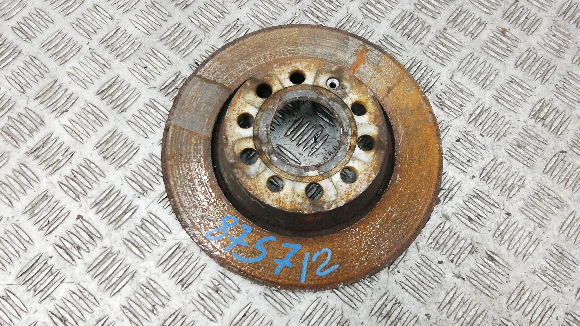 Диск тормозной задний, VOLKSWAGEN, PASSAT B7, 2011