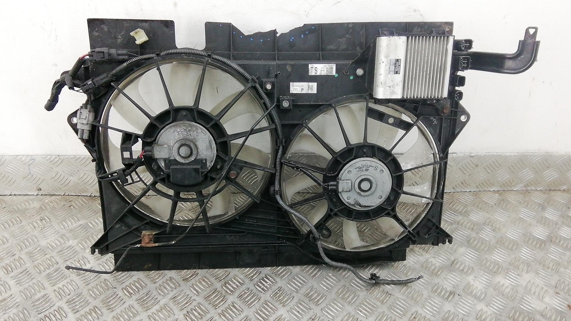 Вентилятор радиатора, TOYOTA, AVENSIS T27, 2014