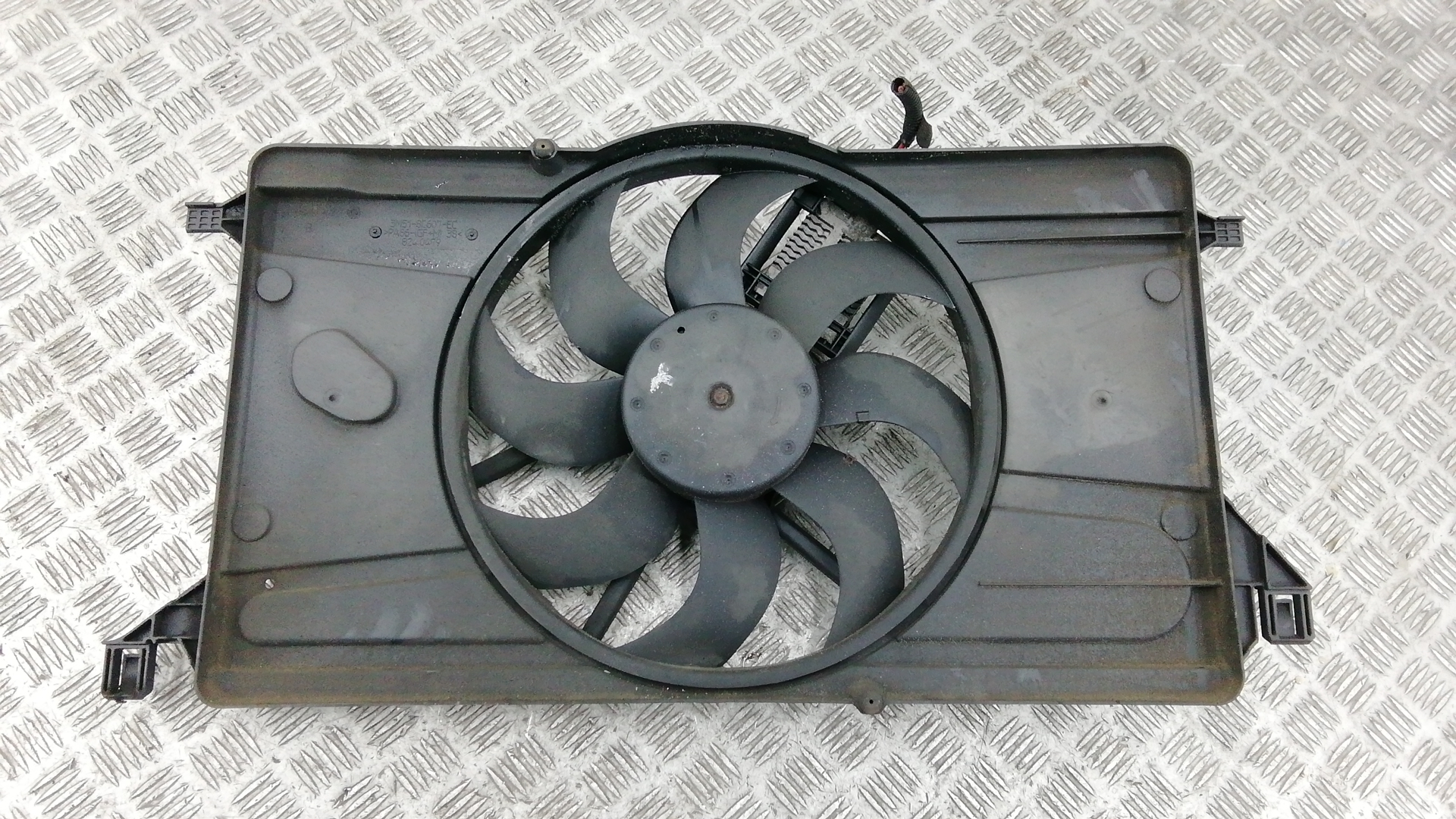 Вентилятор радиатора, FORD, C-MAX 1, 2009