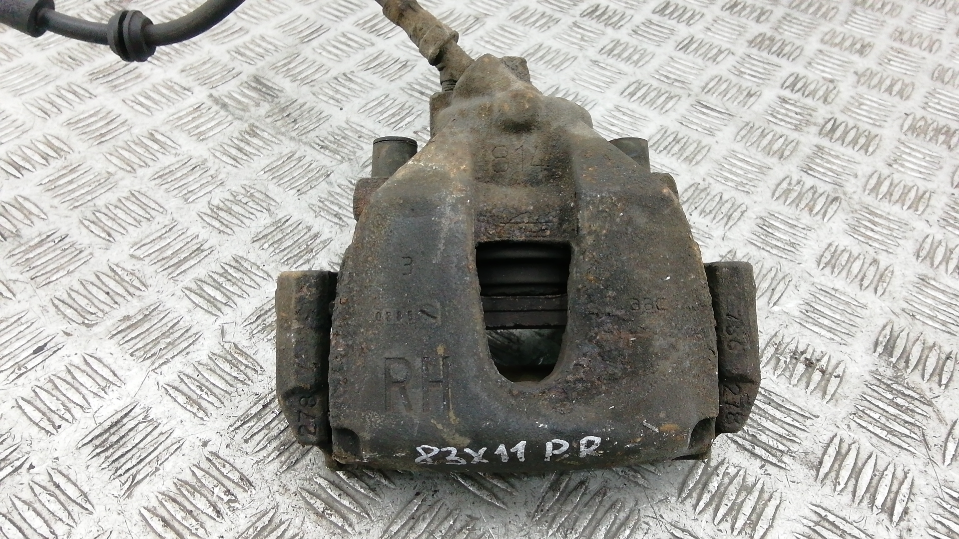 Суппорт тормозной передний правый, FORD, FOCUS 2, 2005