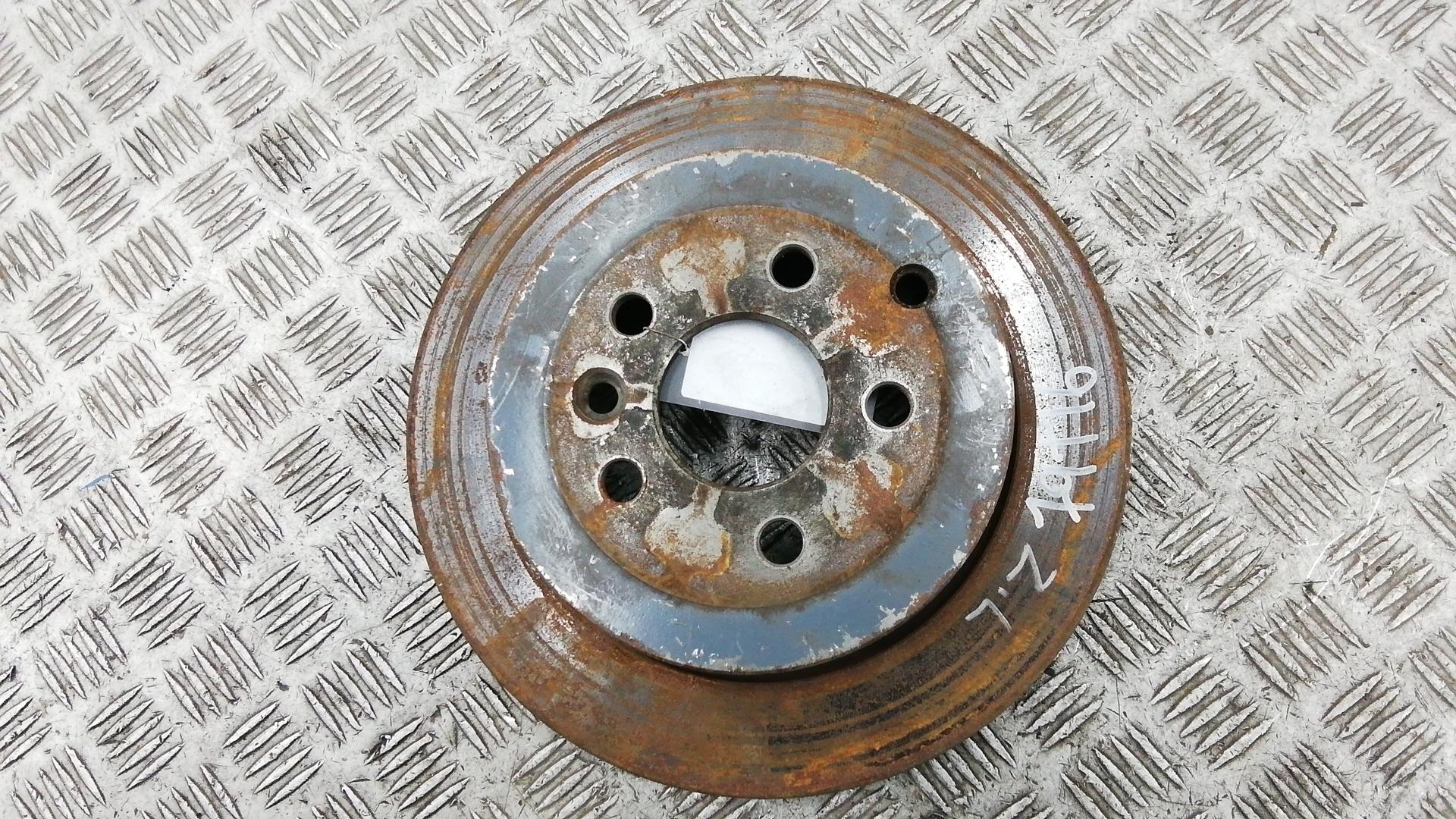 Диск тормозной задний, LAND ROVER, FREELANDER 2, 2007