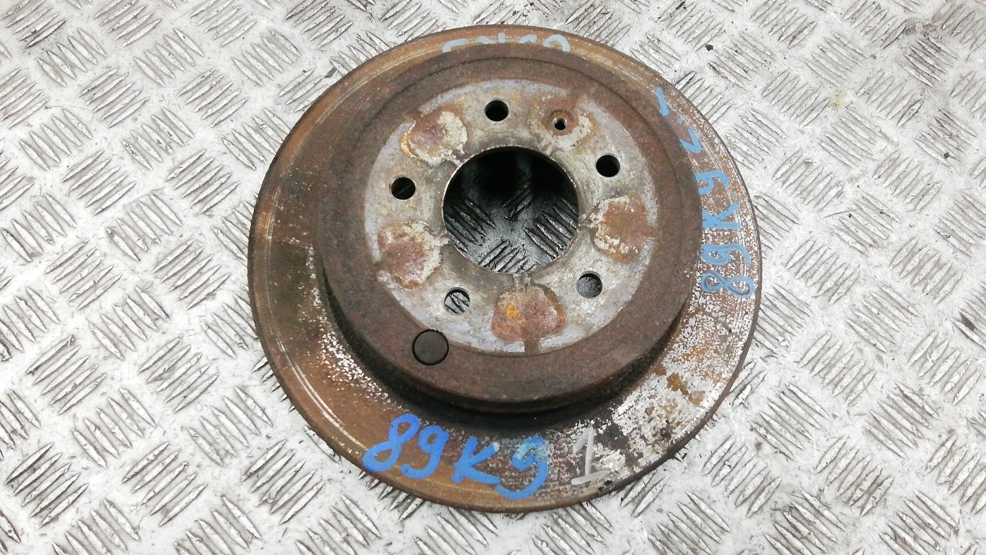 Диск тормозной задний, CHEVROLET, CAPTIVA 1, 2009