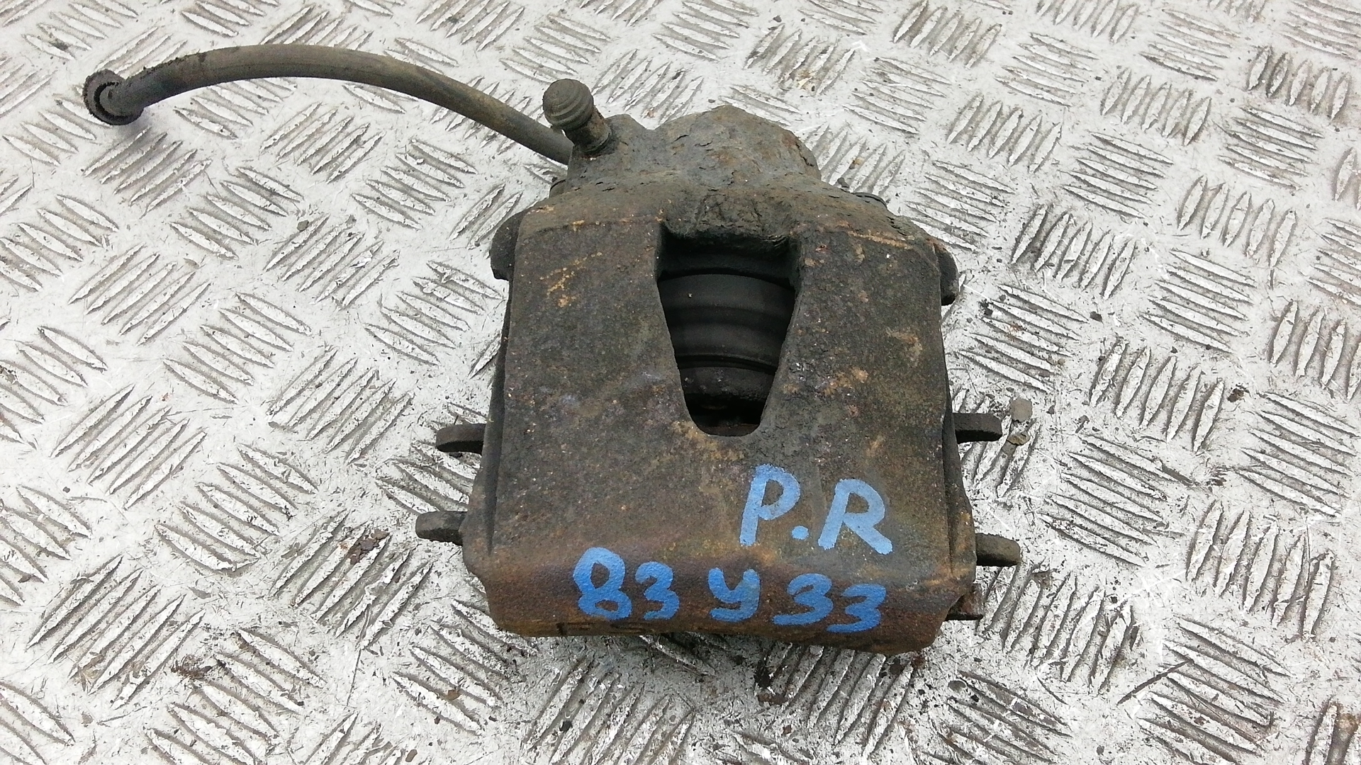 Суппорт тормозной передний правый, VOLKSWAGEN, GOLF 5, 2006