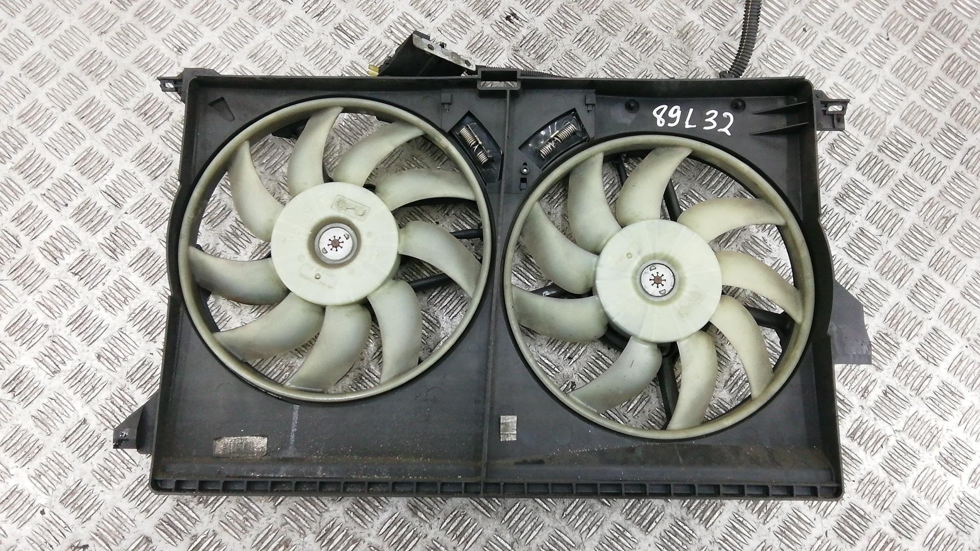 Вентилятор радиатора, SAAB, 9-3 YS3F, 2008