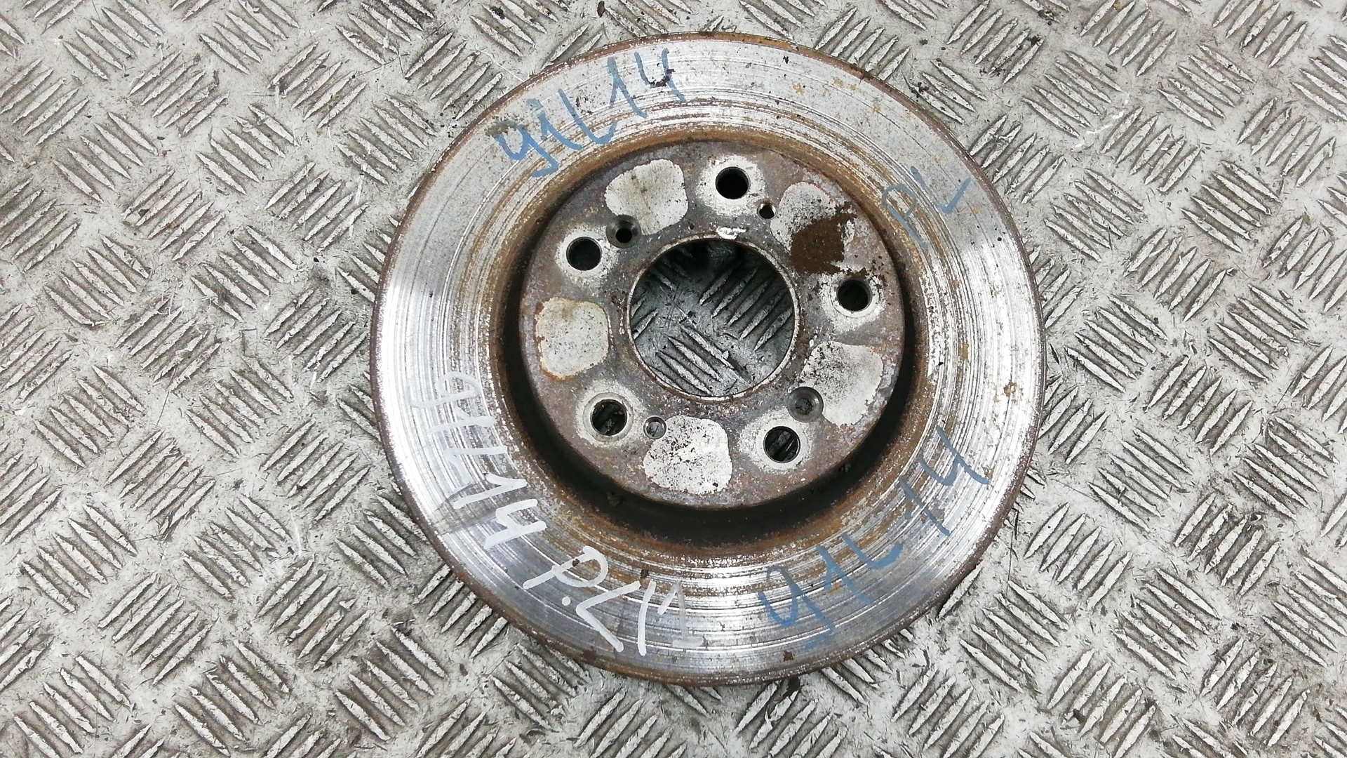 Диск тормозной передний, HONDA, CIVIC 8, 2006
