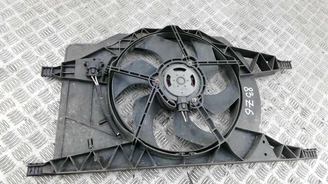 Вентилятор радиатора, RENAULT, LAGUNA 2, 2004