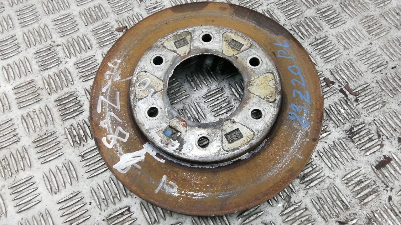 Диск тормозной передний, MITSUBISHI, L200 K4T, 2009