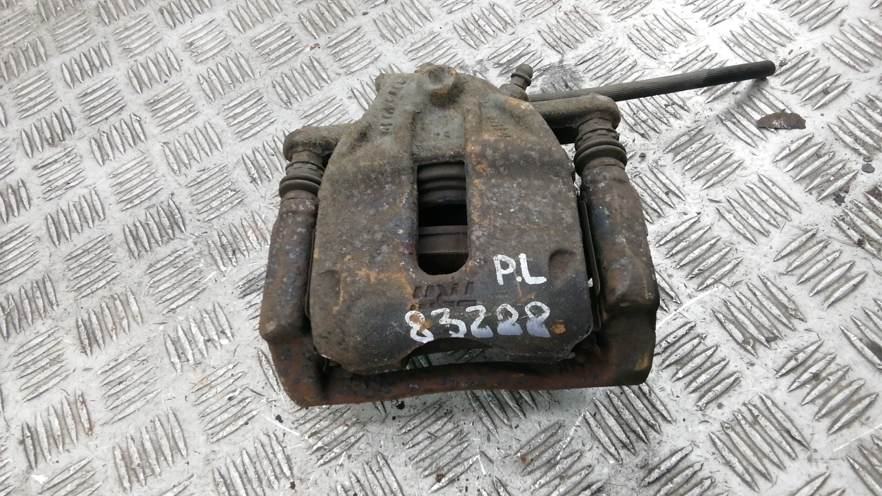 Суппорт тормозной передний левый, NISSAN, NOTE E11, 2008