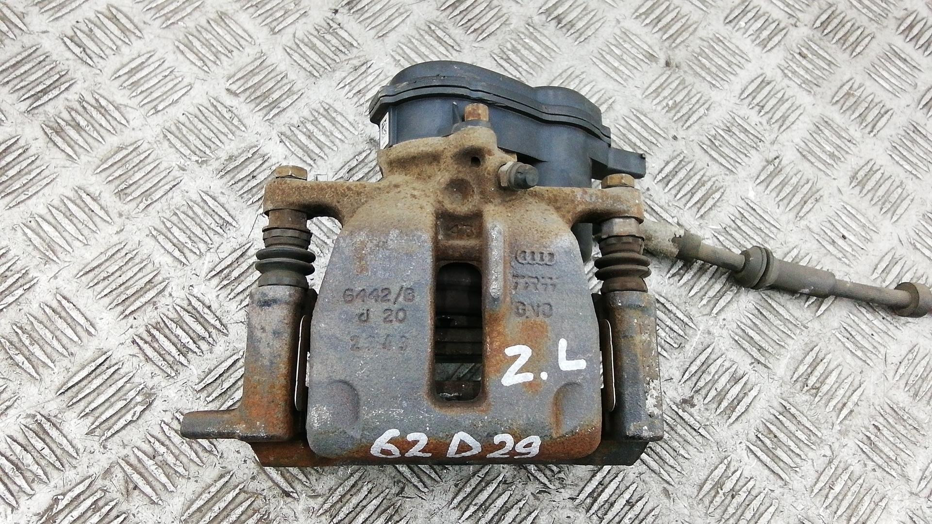 Суппорт тормозной задний левый, AUDI, A4 B8, 2013