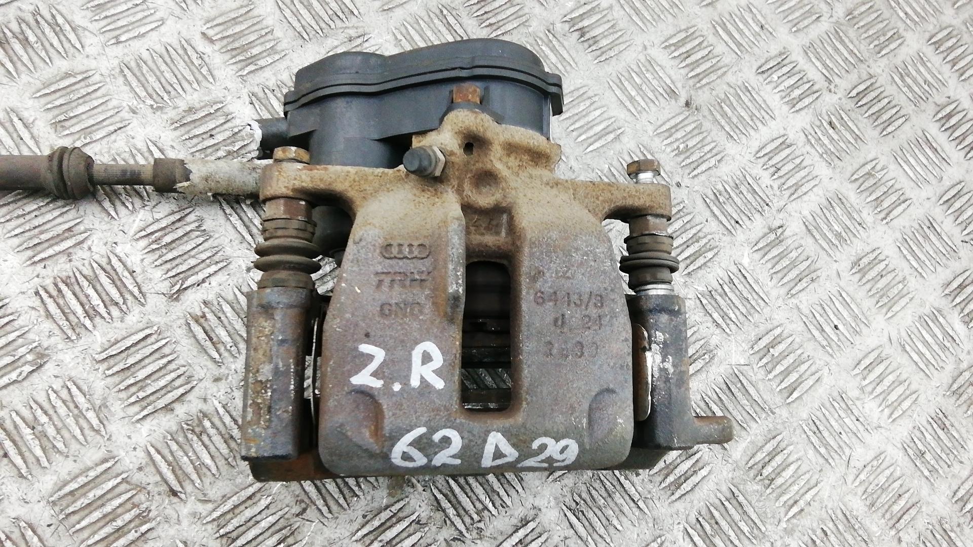 Суппорт тормозной задний правый, AUDI, A4 B8, 2013