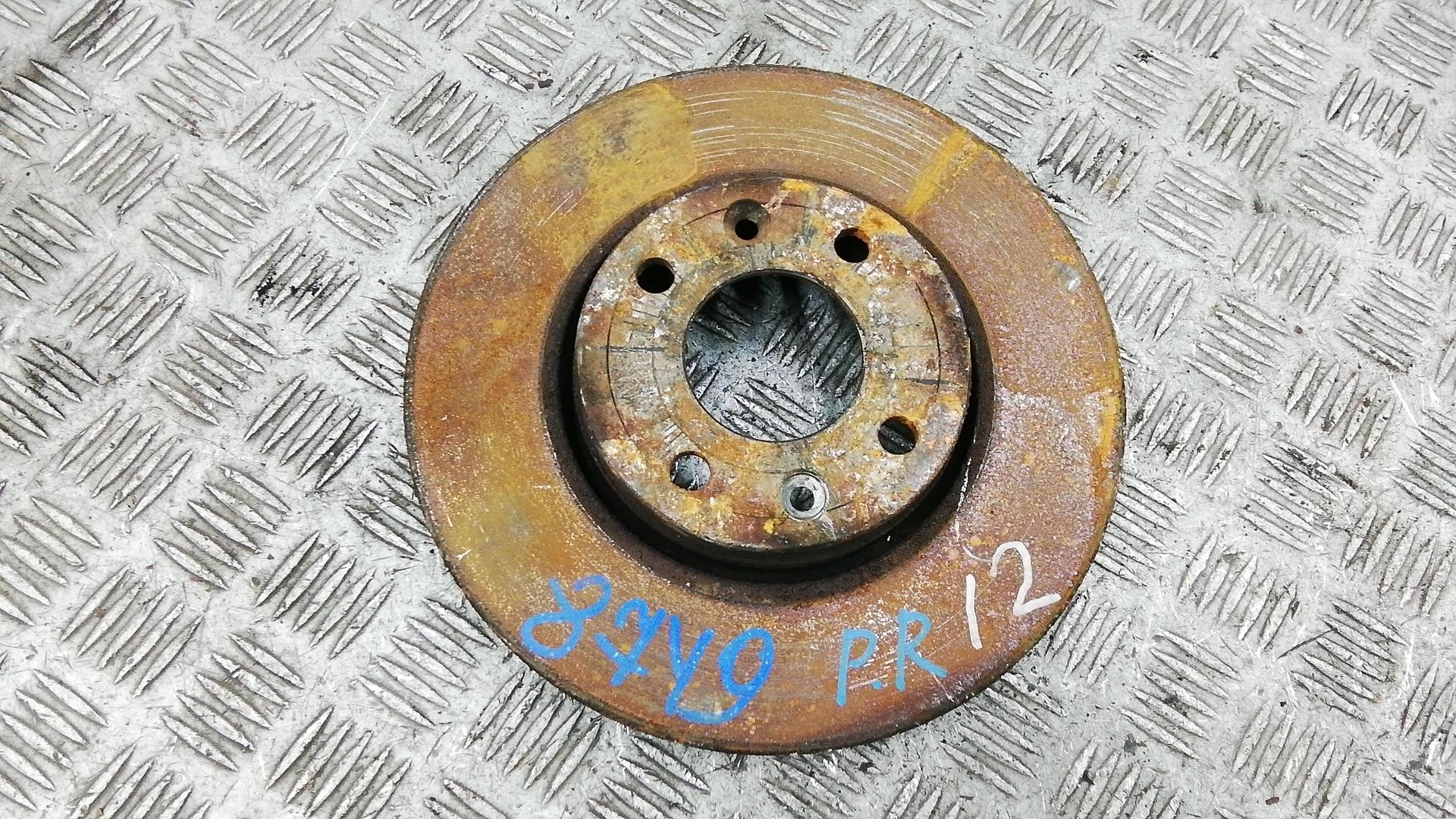 Диск тормозной передний, NISSAN, NOTE E11, 2007