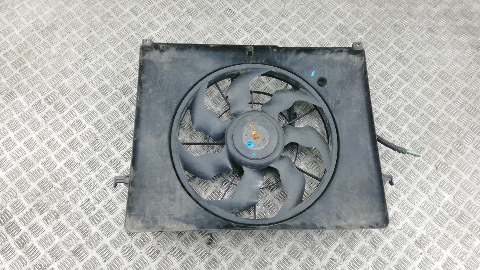 Вентилятор радиатора, HYUNDAI, SONATA 5 (NF), 2005