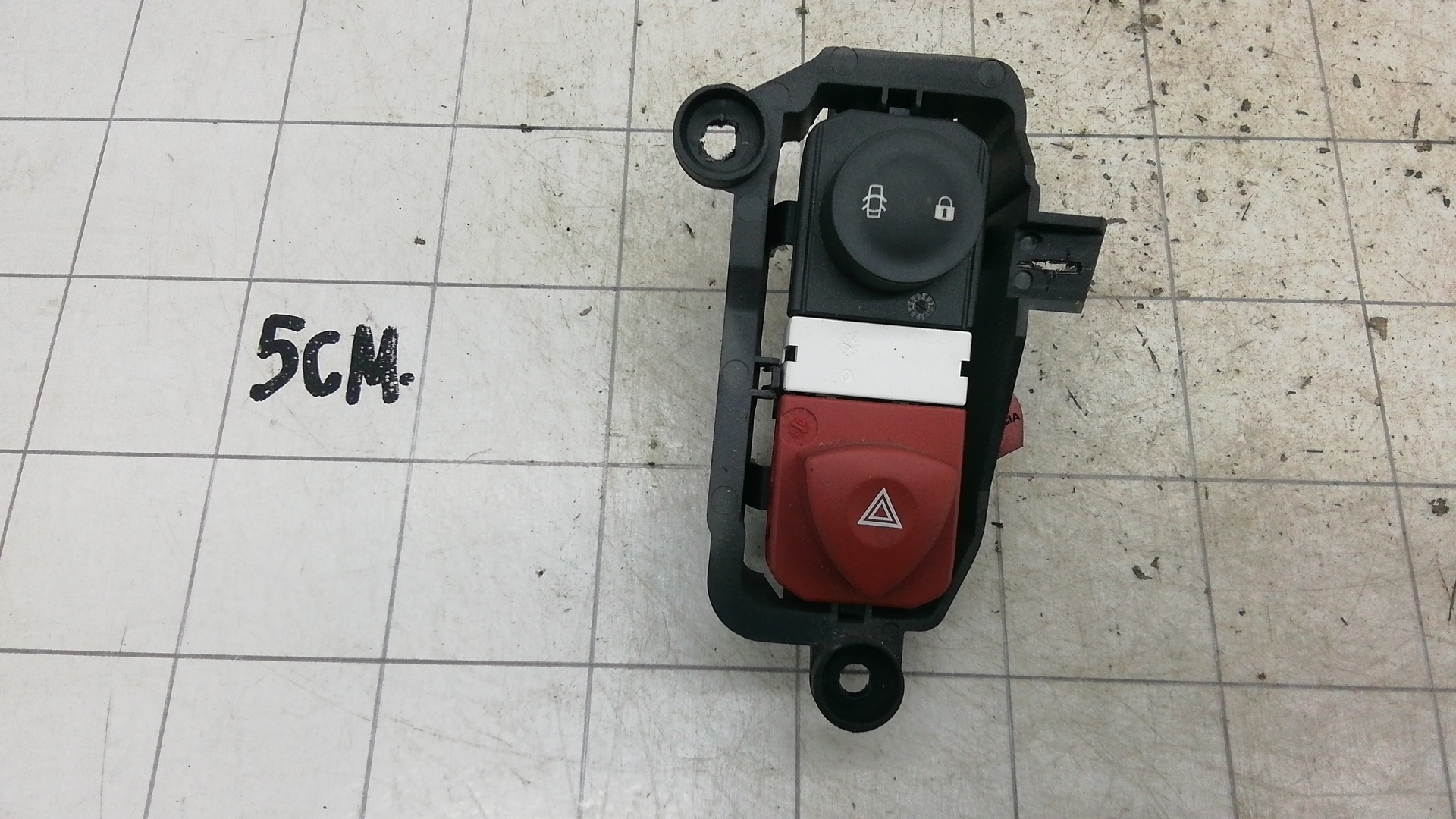 Кнопка аварийки, RENAULT, SCENIC 2 GRAND SCENIC, 2008