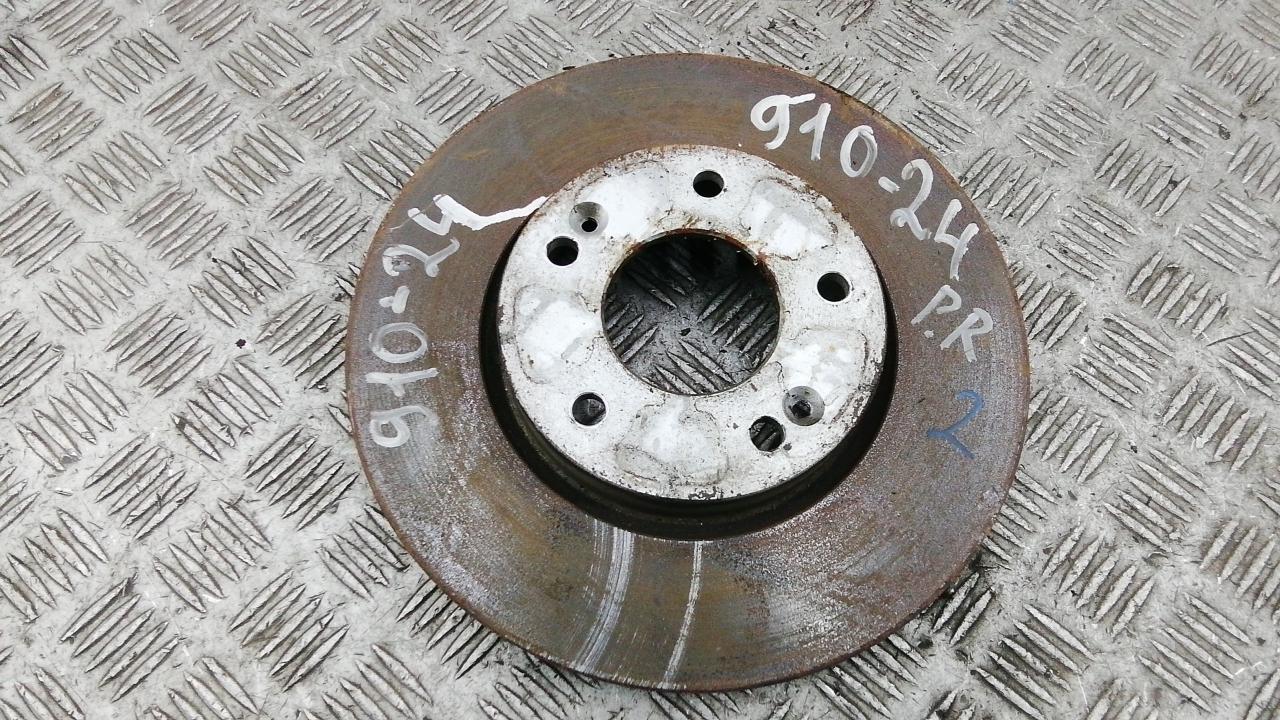 Диск тормозной передний, KIA, CARENS 3, 2007