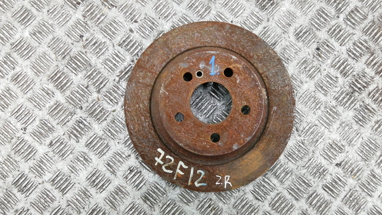 Диск тормозной задний, MERCEDES BENZ, S-CLASS W221, 2008