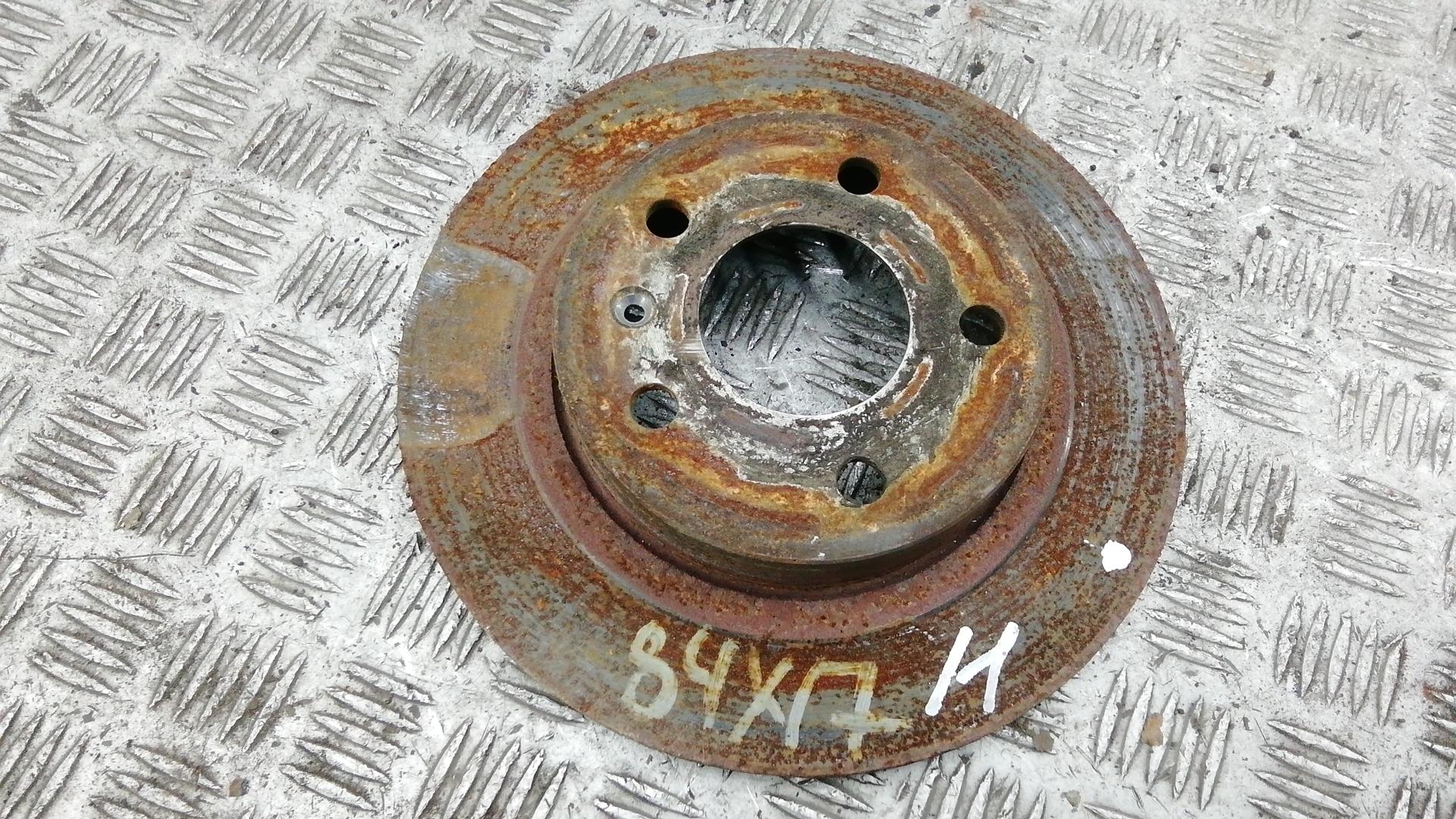 Диск тормозной задний, OPEL, MERIVA B, 2011