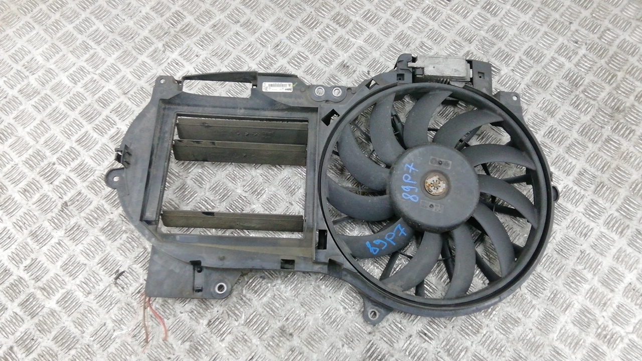 Вентилятор радиатора, AUDI, A6 C6, 2007