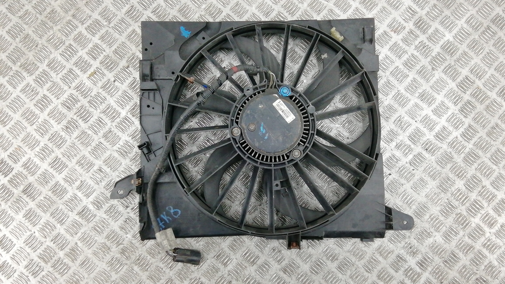 Вентилятор радиатора, JAGUAR, XF, 2011