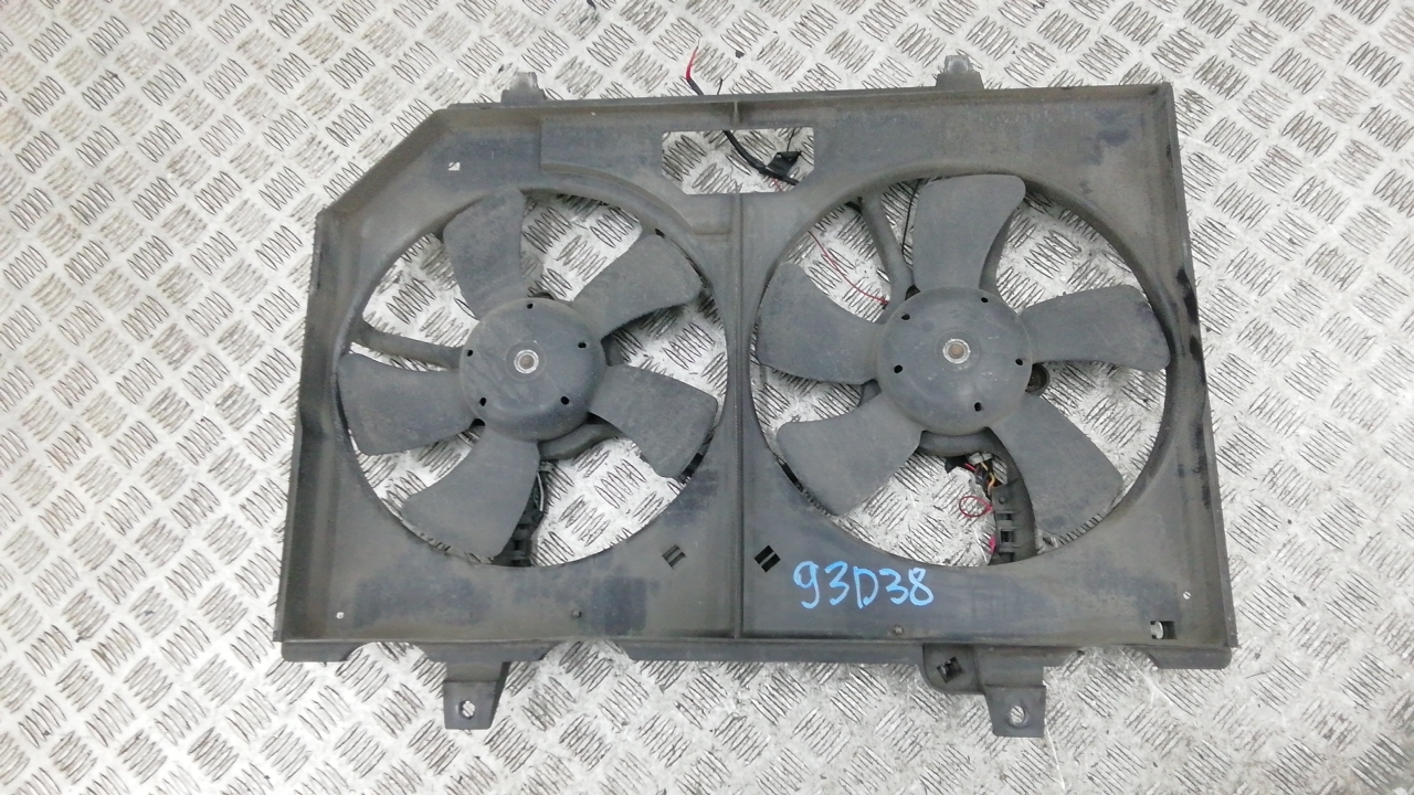 Вентилятор радиатора, NISSAN, X-TRAIL T30, 2002