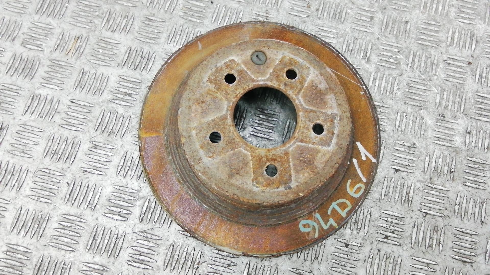 Диск тормозной задний, NISSAN, QASHQAI J10, 2010