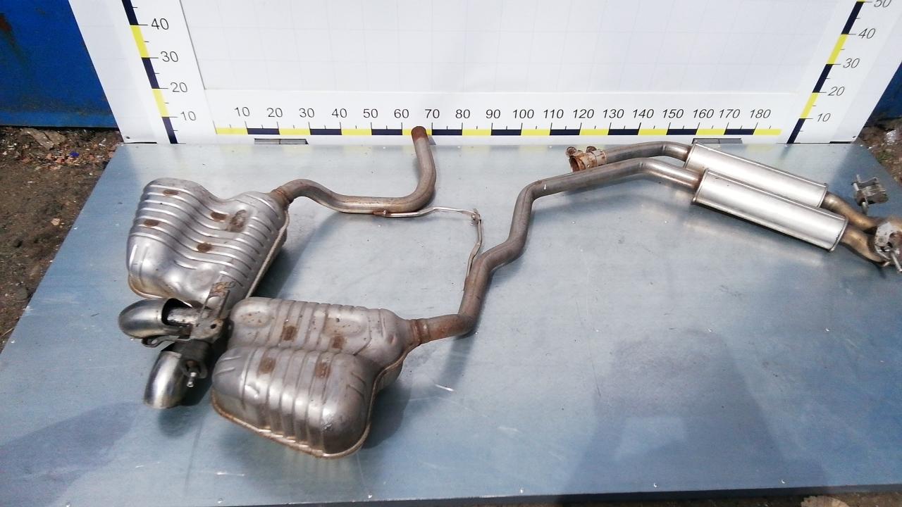 Глушитель, AUDI, A6 C6, 2008