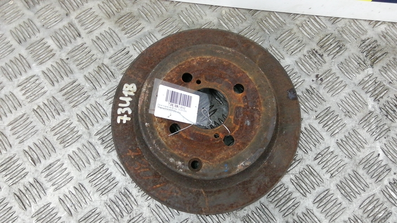 Диск тормозной задний, TOYOTA, COROLLA E12, 2005