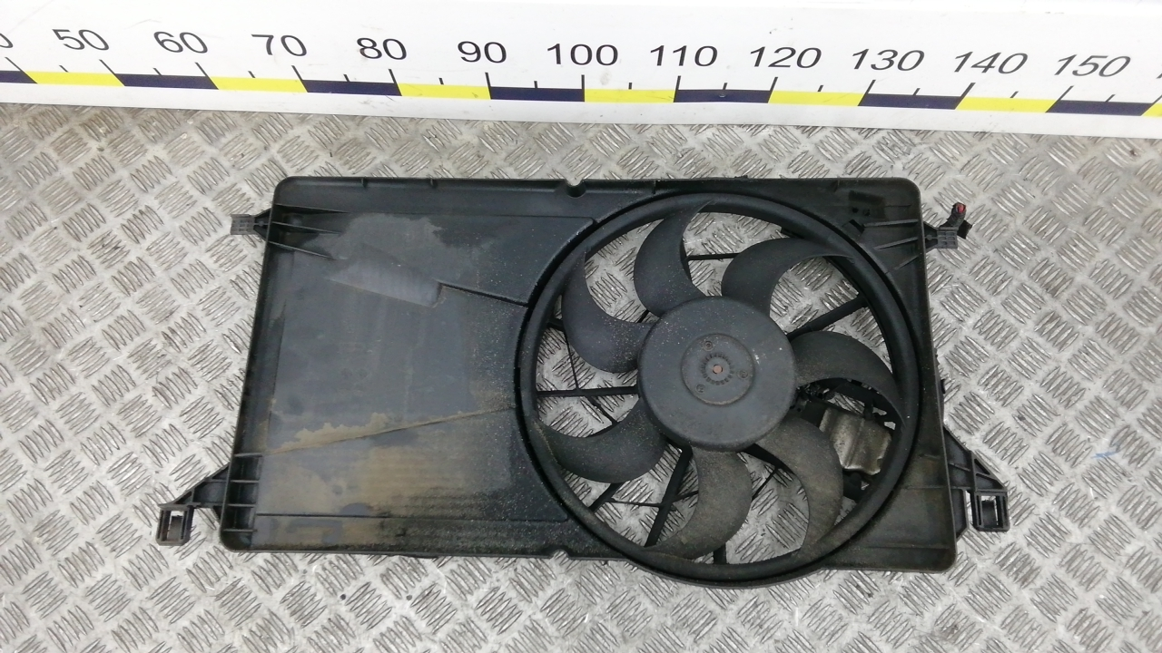Вентилятор радиатора, RENAULT, LAGUNA 3, 2007