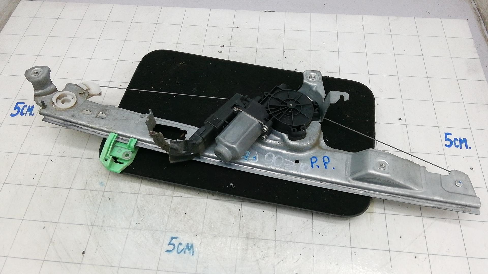 Стеклоподъемник передний правый, RENAULT, SCENIC 2, 2007