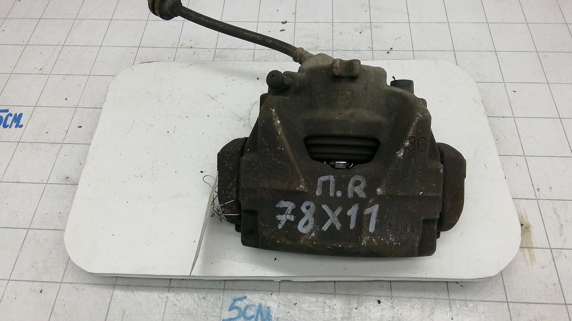 Суппорт тормозной передний правый, RENAULT, MEGANE 3, 2009