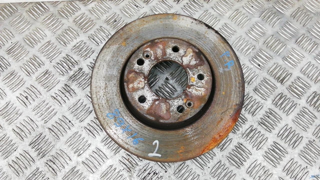 Диск тормозной передний, HYUNDAI, TUCSON JM, 2005