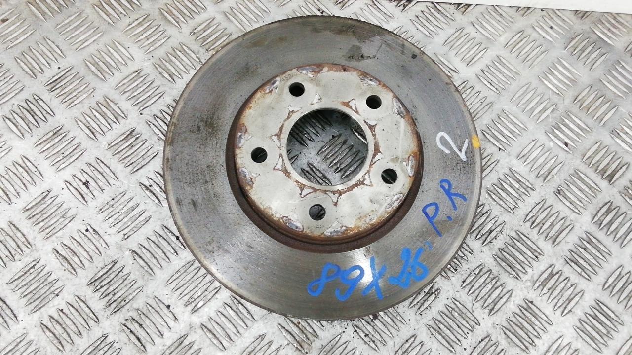 Диск тормозной передний, NISSAN, X-TRAIL T30, 2004