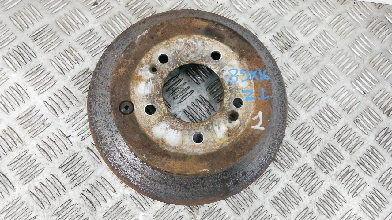 Диск тормозной задний, HYUNDAI, TUCSON JM, 2005