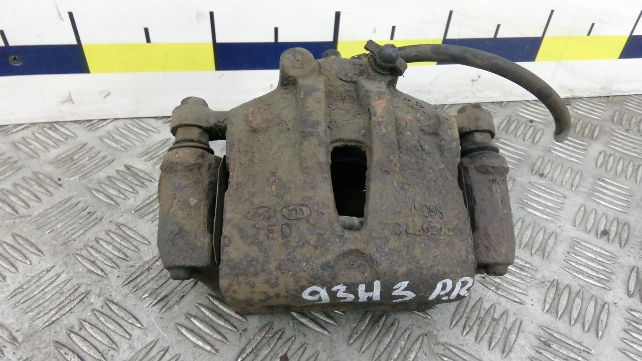 Суппорт тормозной передний правый, KIA, CEE'D 1, 2008