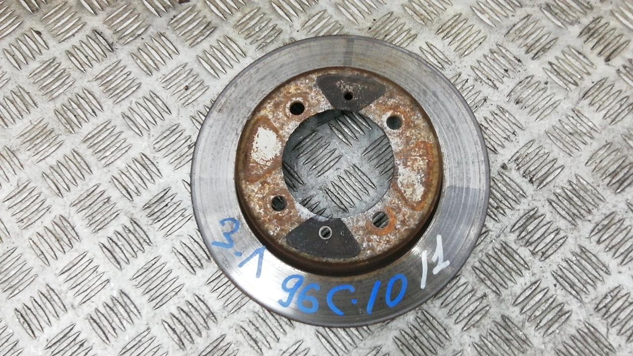 Диск тормозной задний, MITSUBISHI, CARISMA, 2001