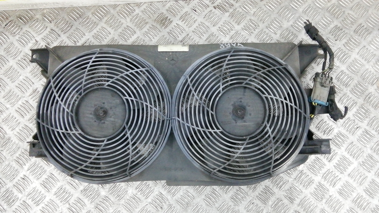 Вентилятор радиатора, MERCEDES BENZ, M-CLASS W163, 2000