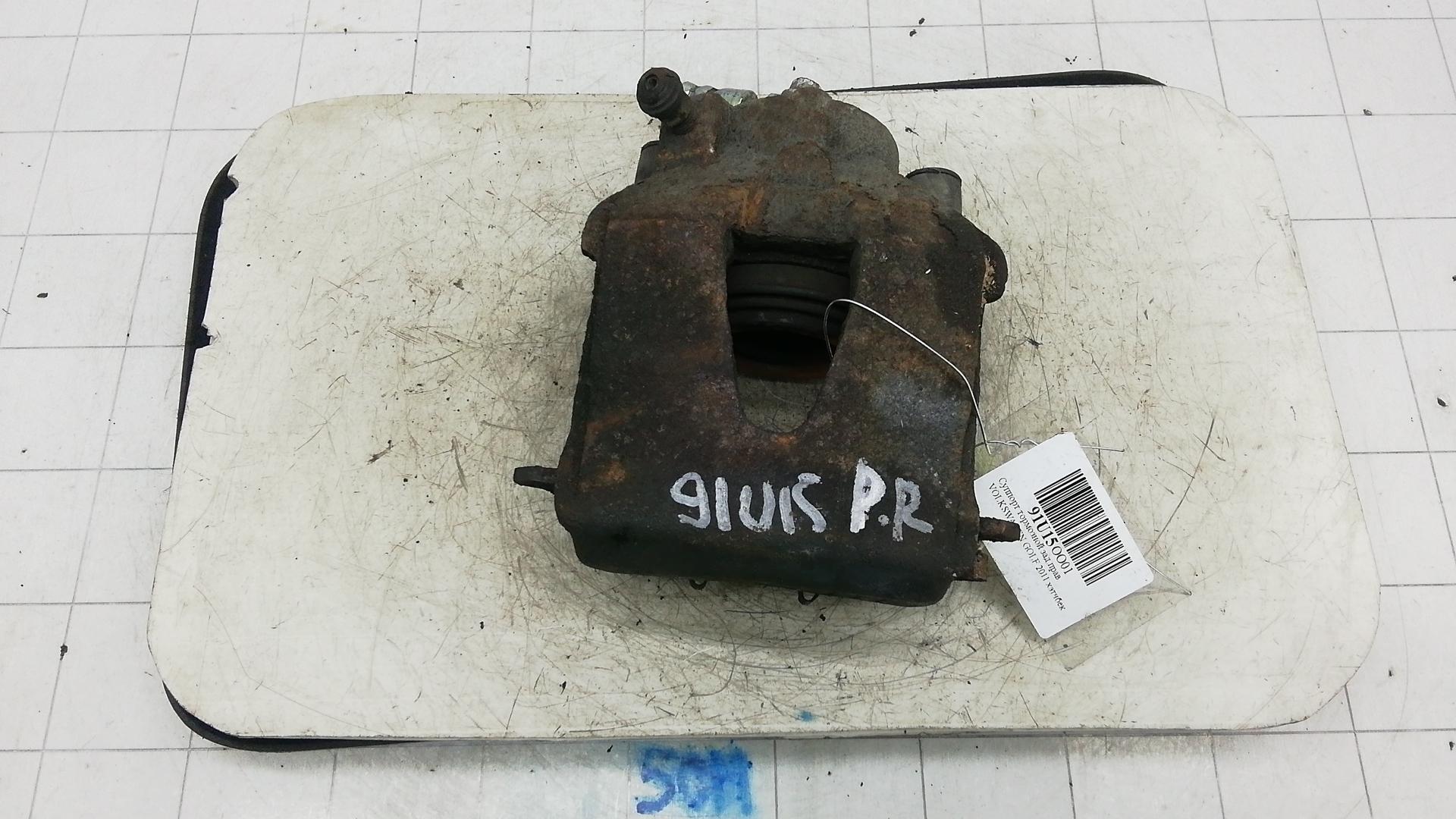Суппорт тормозной передний правый, VOLKSWAGEN, GOLF 6, 2011