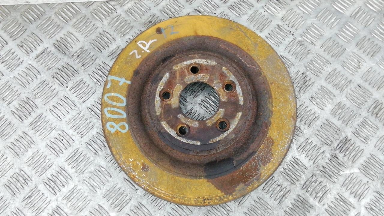 Диск тормозной задний, JAGUAR, XF, 2009