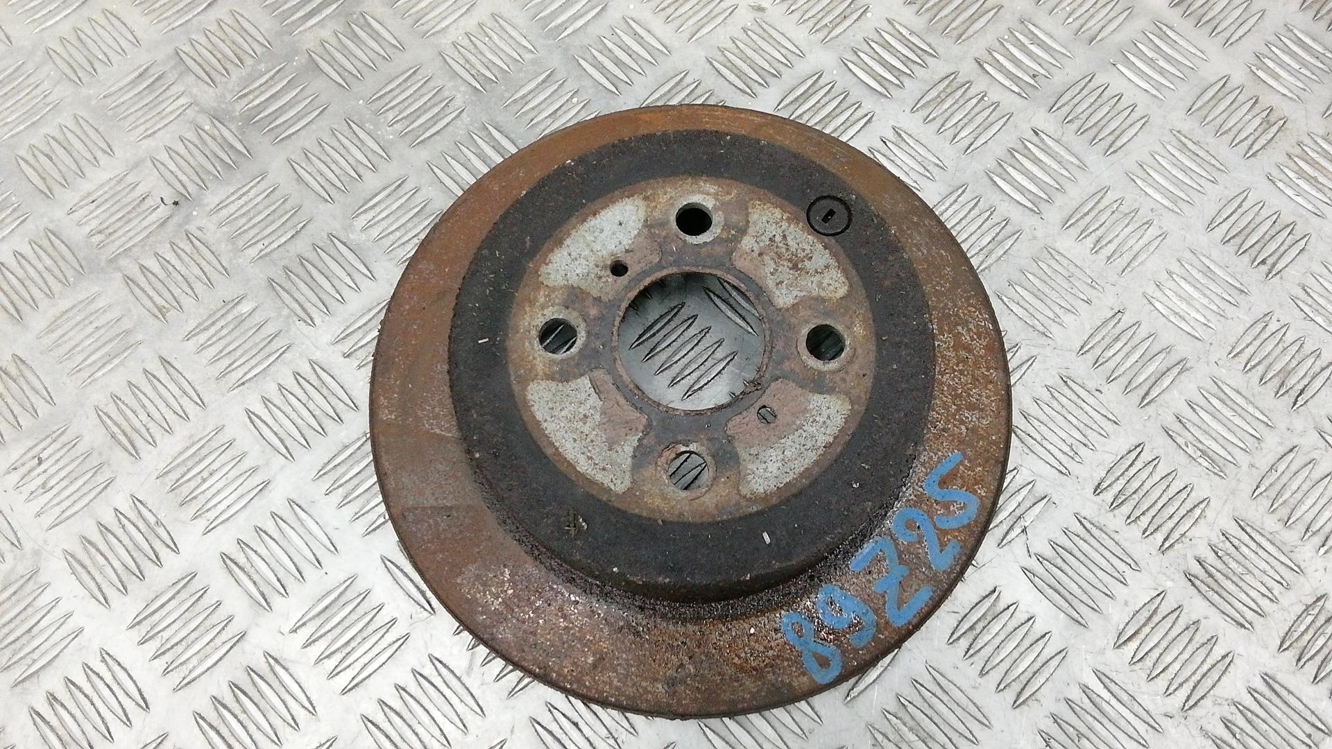 Диск тормозной задний, TOYOTA, COROLLA VERSO 1, 2002