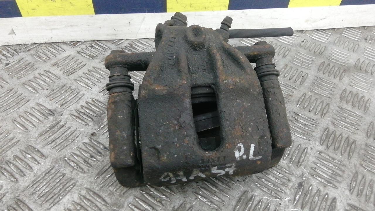Суппорт тормозной передний левый, NISSAN, NOTE E11, 2006