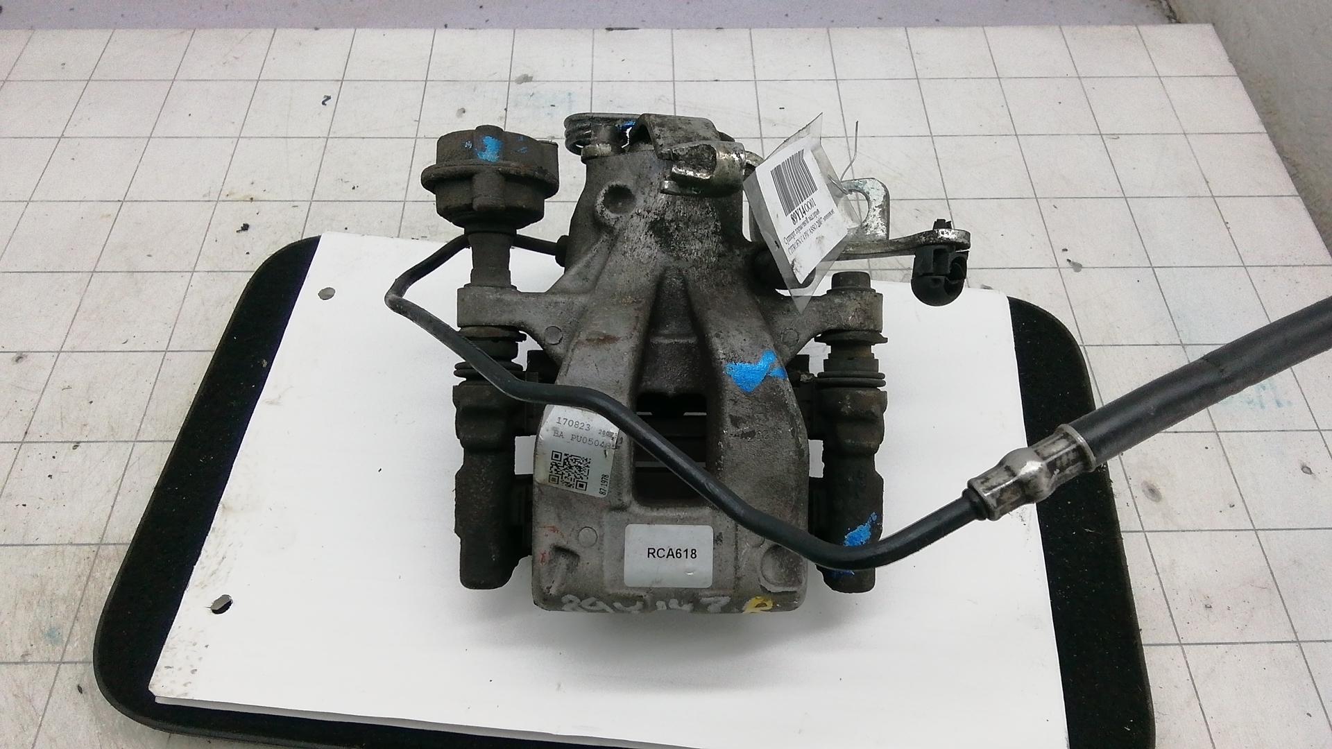 Суппорт тормозной задний правый, CITROEN, C4 PICASSO 1, 2007