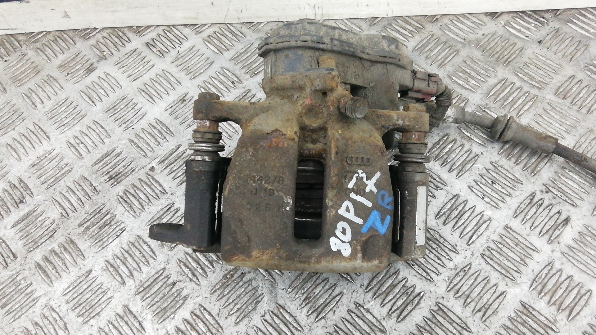 Суппорт тормозной задний правый, AUDI, A5 1, 2011