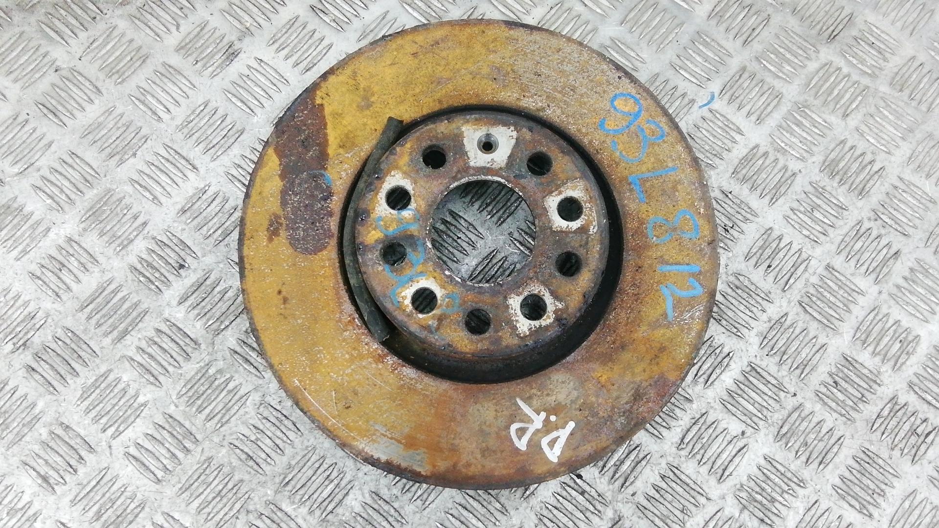 Диск тормозной передний, VOLKSWAGEN, PASSAT B6, 2006
