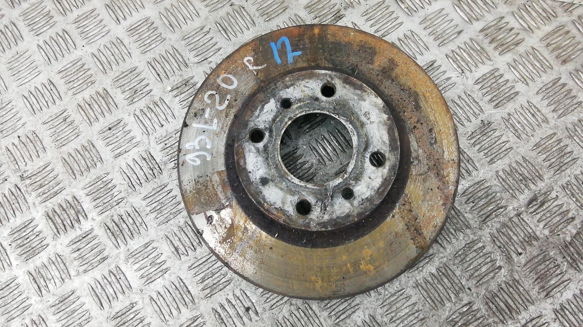 Диск тормозной передний, NISSAN, ALMERA N16, 2004