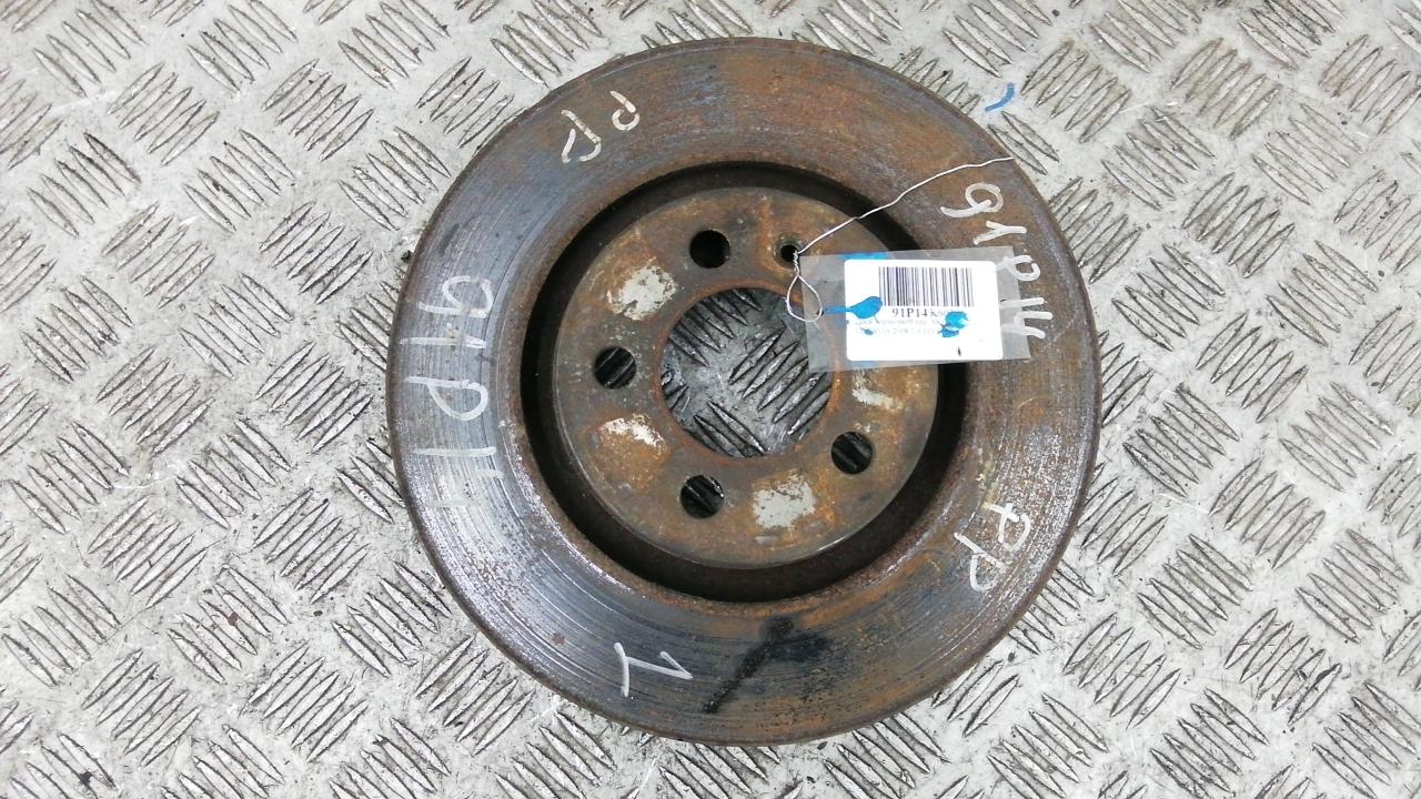 Диск тормозной передний, SKODA, OCTAVIA A4, 2008