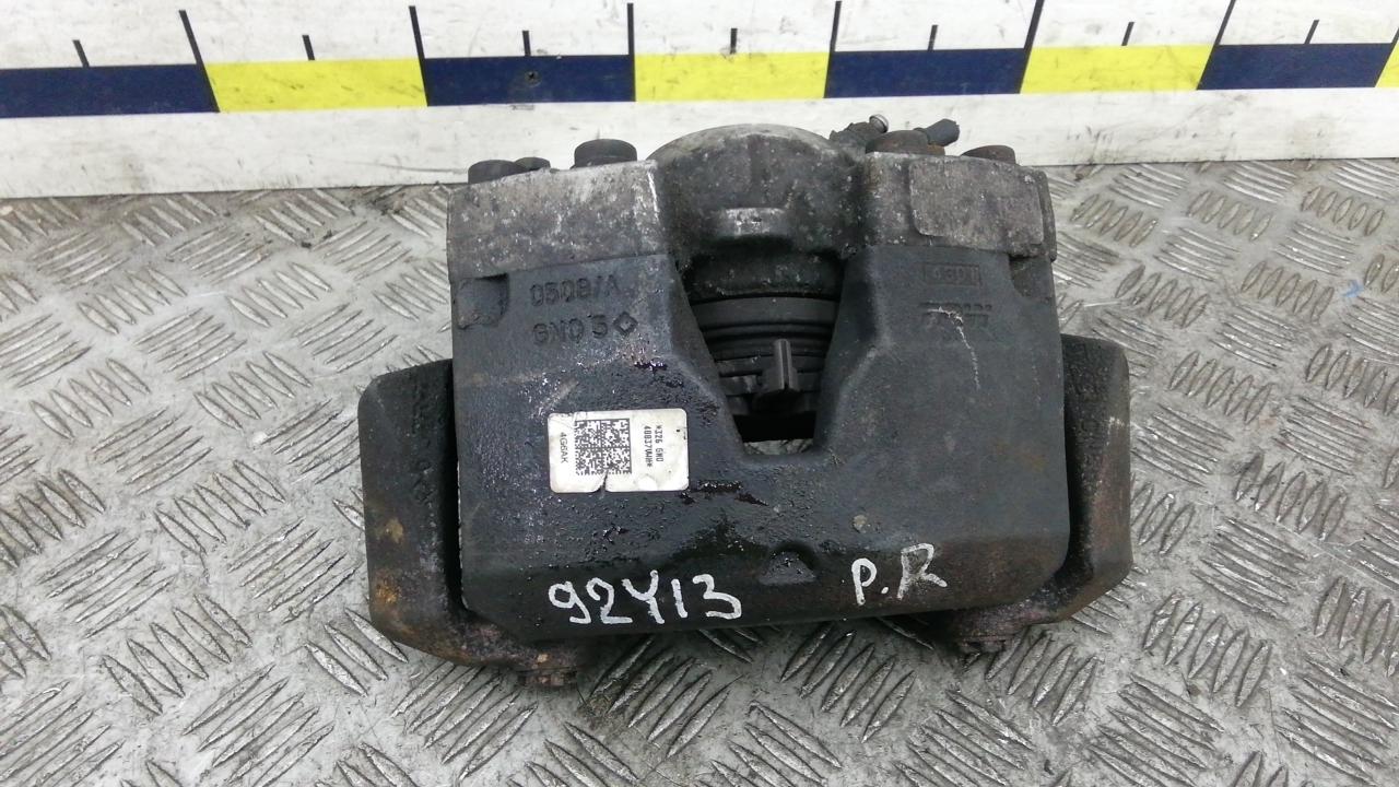 Суппорт тормозной передний правый, AUDI, A6 C7, 2012