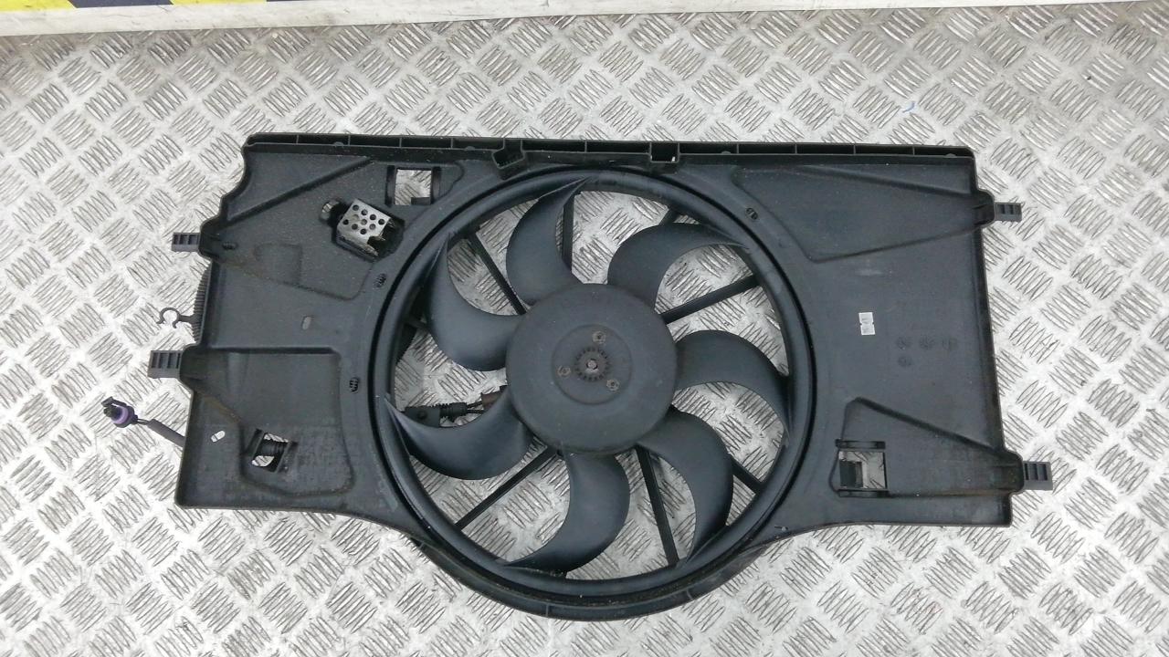 Вентилятор радиатора, RENAULT, LAGUNA 3, 2009