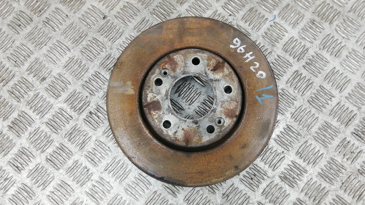 Диск тормозной передний, HYUNDAI, TUCSON JM, 2006