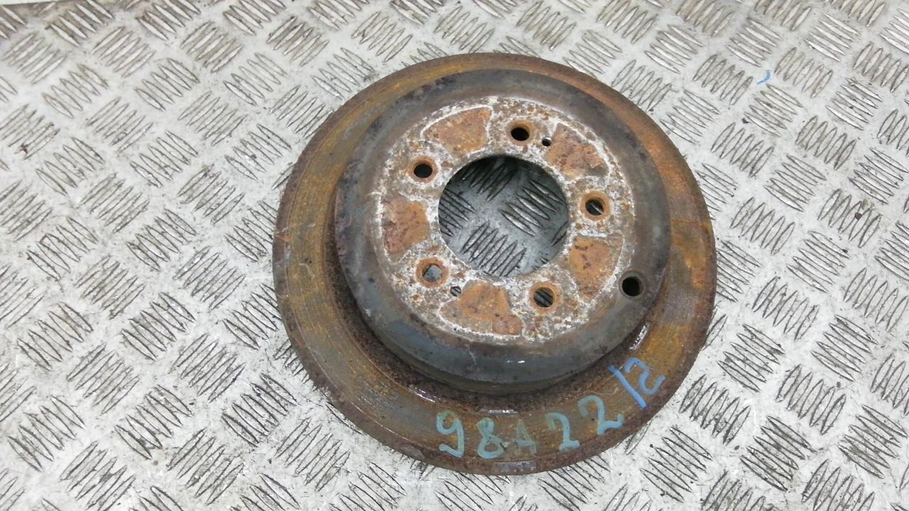 Диск тормозной задний, PEUGEOT, 4007, 2009