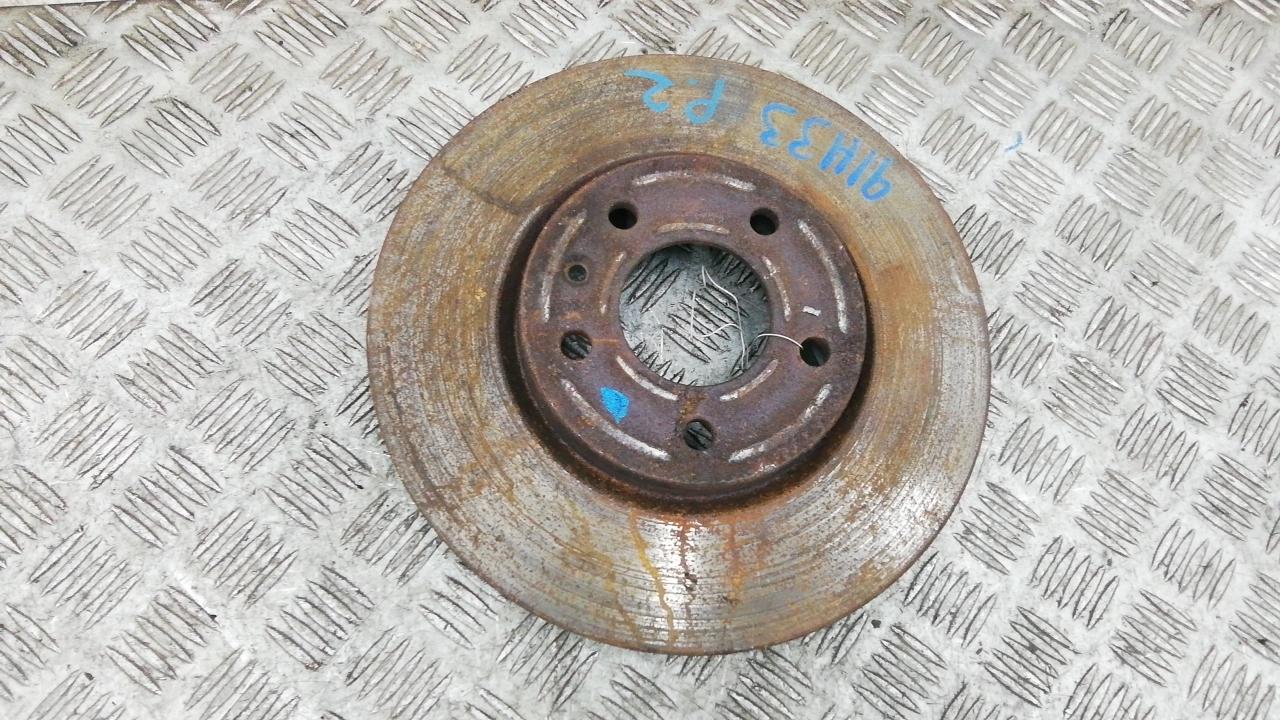 Диск тормозной передний, OPEL, ASTRA J, 2010